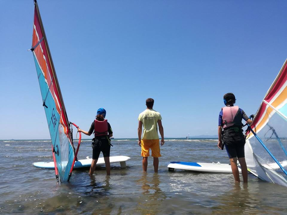 Surf, wind surf e kite surf