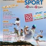 Inaugurazione Giornate Europee dello Sport 2017