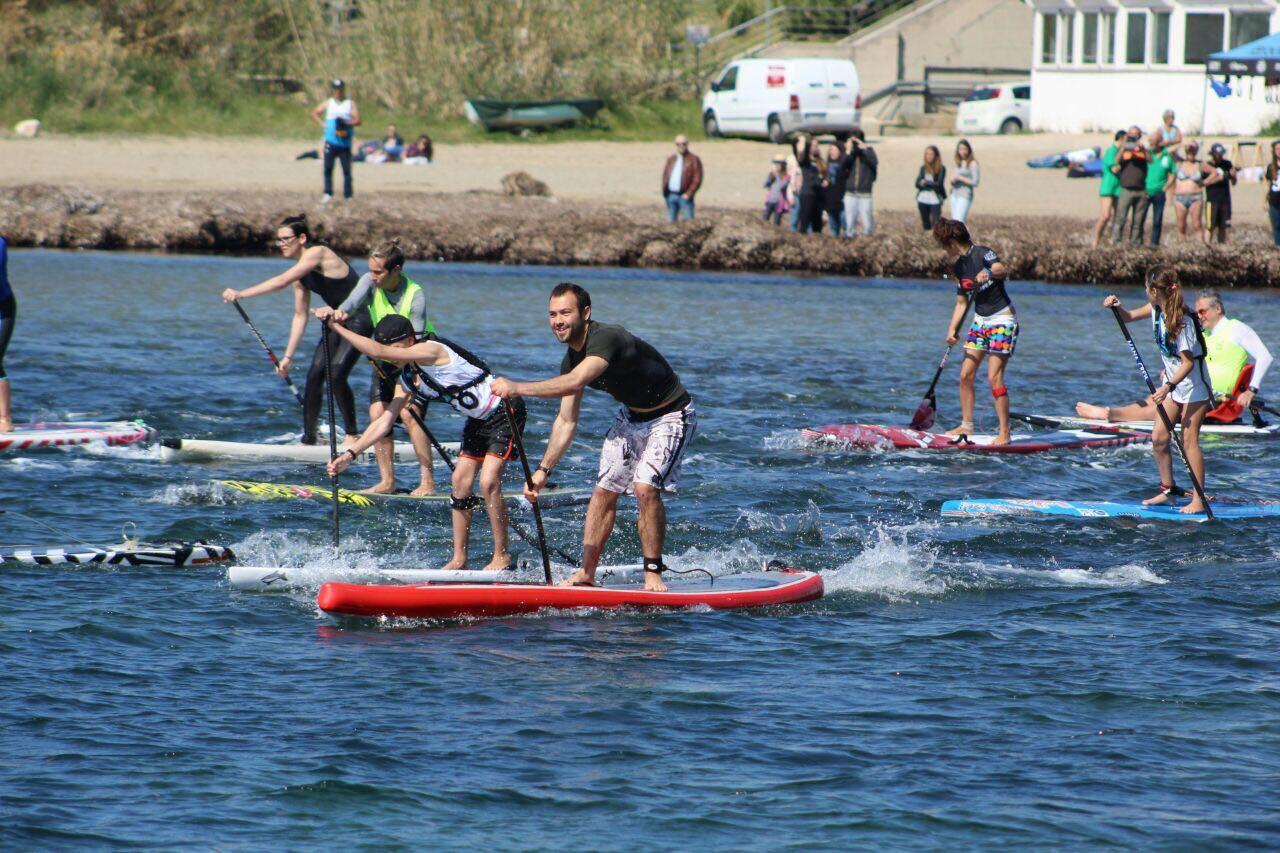 Salivoli Sup Race: la sfida del Sup nella spiaggia di Salivoli