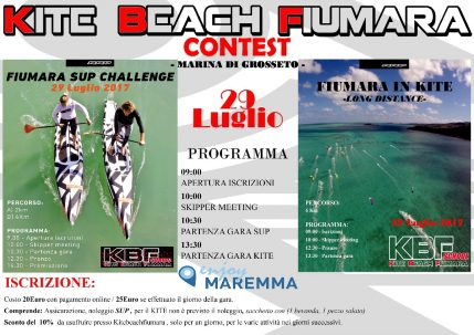 29 luglio – Kite Beach Fiumara Contest