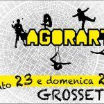 La seconda edizione di Agorartist si terrà a Grosseto il 23 e 24 settembre 2017