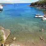 On holiday on Giannutri island