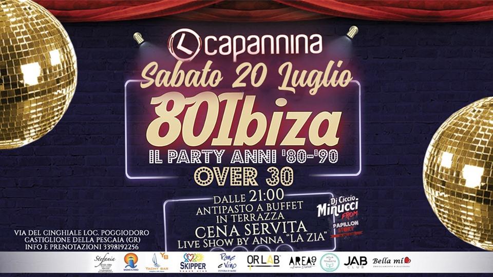 80 Ibiza – Party anni 80 & 90