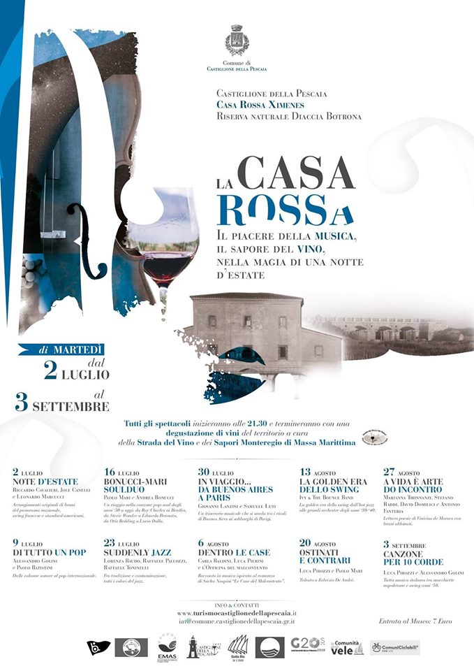 La Casa Rossa Music & Wine