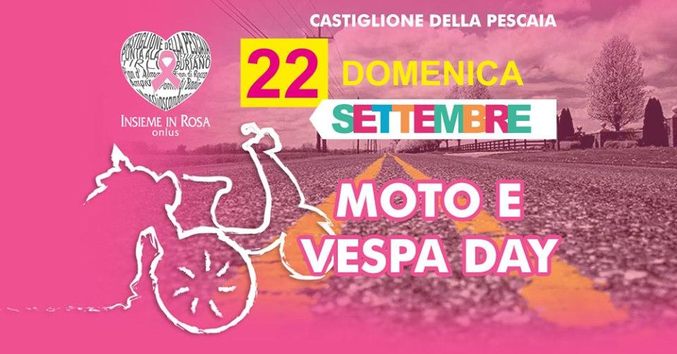 Insieme in Rosa 2019   Moto e Vespa Day   Castiglione della Pescaia