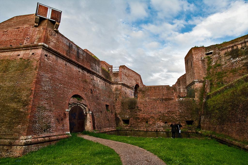 le mura della città a Grosseto